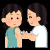インフルエンザ予防接種を打つ2020