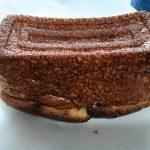 もち麦パウンドケーキ作り